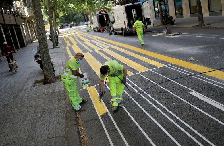 Βαρκελώνη, Ισπανία: Εργα...