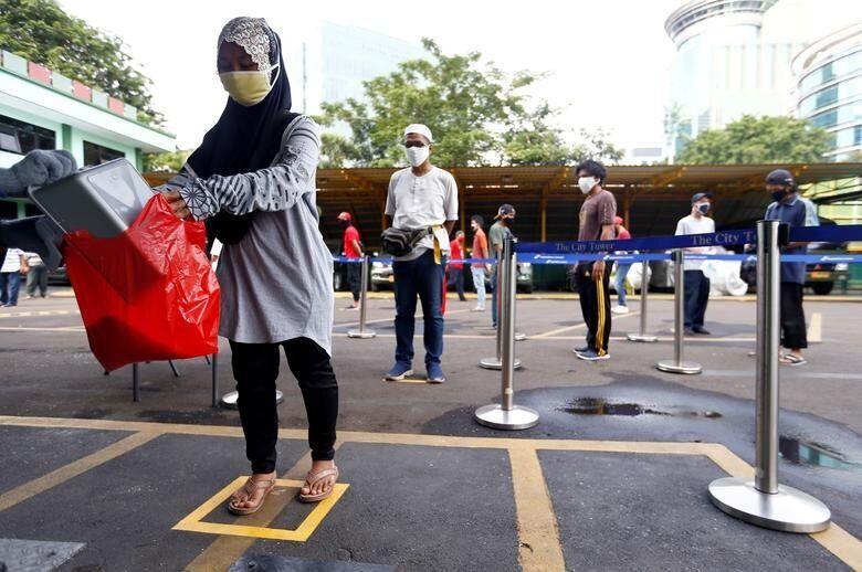 Τζακάρτα, Ινδονησία: Ανθρωποι...