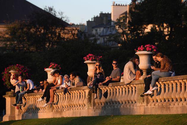 Image d'illustration, une après-midi ensoleillée au jardin du Luxembourg à Paris,