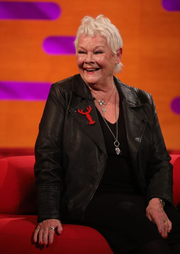 Judi Dench appearing on The Graham Norton Show last