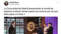 Cachondeo en Twitter con la decisión de Ayuso de pedir que Madrid pase a la fase
