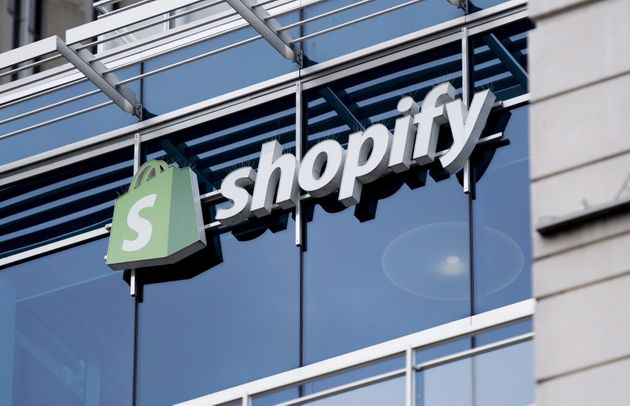 Shopify's Ottawa headquarters are seen here on May 29,