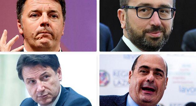 Renzi/Conte/Bonafede/Zingaretti