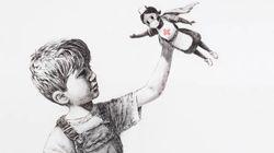 Banksy presta homenagem a profissionais de saúde em nova