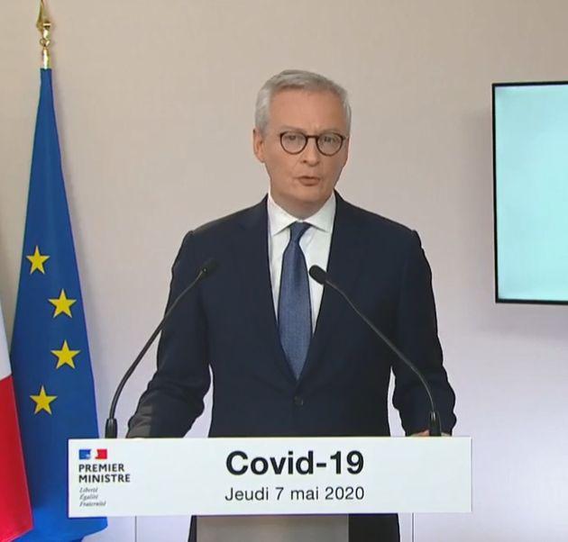 Bruno Le Maire, ministre de
