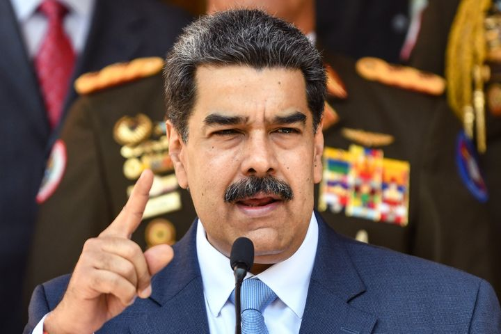Venezuelan President Nicolás Maduro used a botched coup attempt led by a former U.S. Green Beret to assert that the United States and Venezuela's opposition were trying to violently bring down his government.