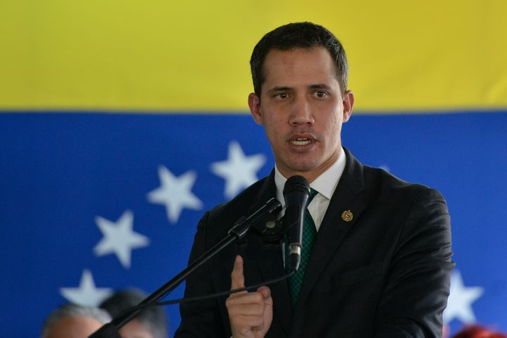 The Venezuelan National Assembly declared opposition leader Juan Guaidó acting president of Venezuela in January 2019. The U.S. recognized him as the country's new leader despite President Nicolás Maduro's hold on power.
