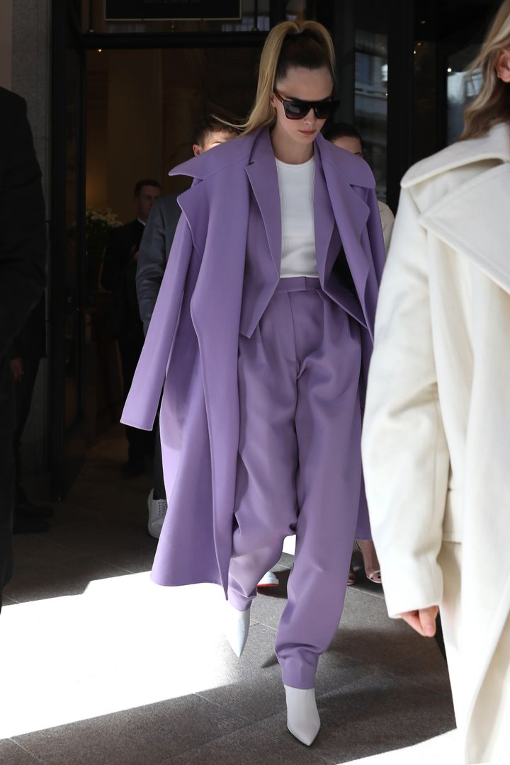 Even cooler when paired with the overcoat, somehow.