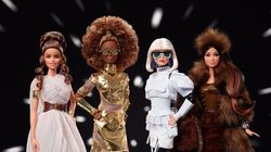 Barbie Goes Intergalactic With High-Fashion 'Star Wars'