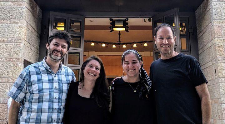 Rabbi Daniel Bogard, left, Rabbi Karen Bogard, Maharat Rori Picker Neiss and Rabbi Michael Alper are among 37 Missouri clergy