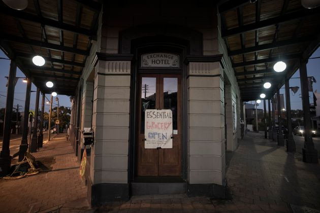 A general view of the Exchange Hotel in Balmain on May 06, 2020 in Sydney, Australia. Bars and pubs across...