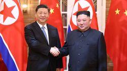 Kim Jong-un felicita a Xi Jinping mediante un