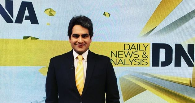 Sudhir Chaudhary on his show