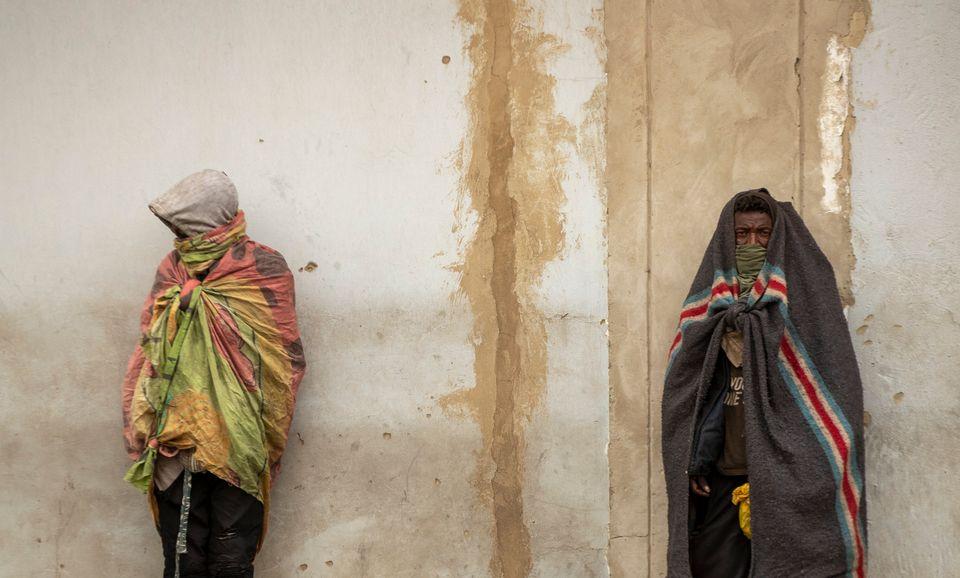 Άστεγοι στη Νότια Αφρική...