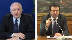 De Luca punge Salvini: