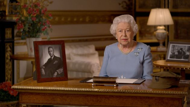 Queen Says 'Never Give Up, Never Despair' During VE Day Address To Nation In