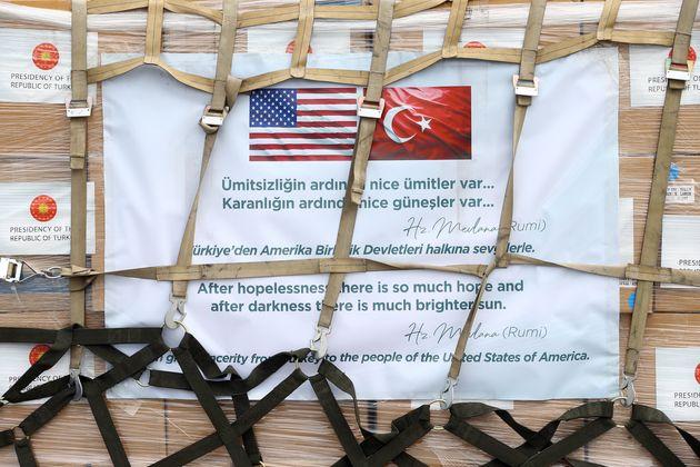Η Τουρκία στέλνει ιατροφαρμακευτική...
