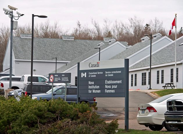 The Nova Institution for Women is seen in Truro, N.S. on May 6,