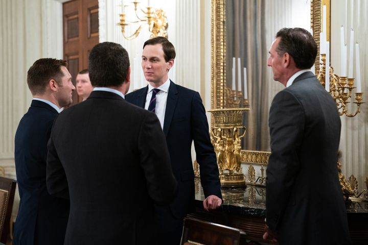 Jared Kushner. My man. Do you really want to stand so close to these guys?