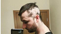 自宅待機中に髪を切った人たち、惨劇のヘアカット18選。これが「コロナカット」だ