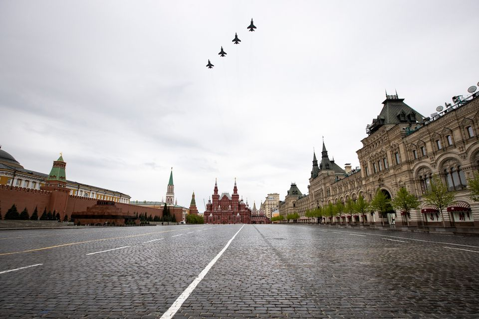 Η Ρωσία γιόρτασε στους αιθέρες την Ημέρα της Νίκης - Εντυπωσιακές εικόνες από τις αεροπορικές