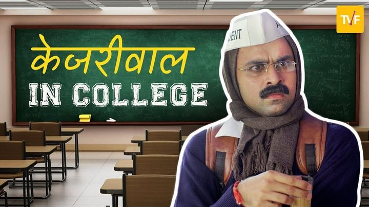Jeetu as Kejriwal in the TVF satire 'Barely Speaking'