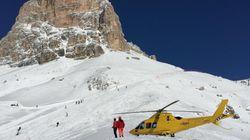 Valanga a Cortina d'Ampezzo, morto un