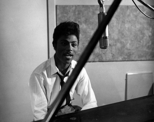 Little Richard στο στούντιο την δεκαετία...