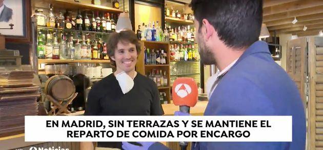 Reportaje de Antena 3 por el
