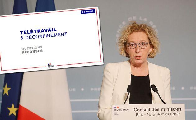 Muriel Pénicaud et le ministère du Travail ont mis en ligne un guide censé accompagner les entreprises...