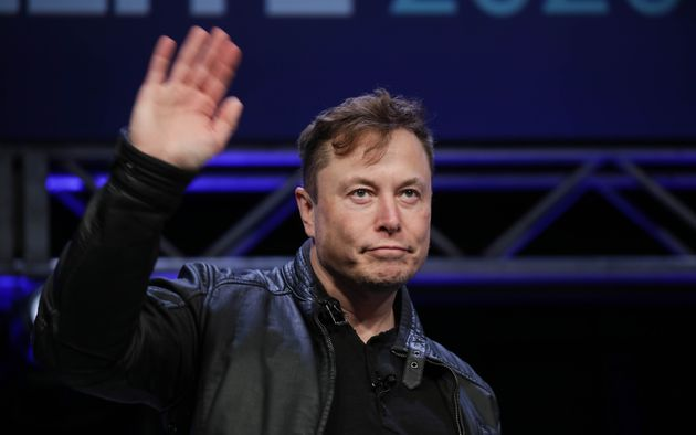 Elon Musk, founder of Tesla and SpaceX, at the Satellite 2020 Conference in Washington, D.C., March 9,...