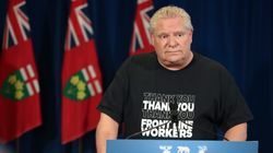 Doug Ford Called 'Prime Minister,' Doesn't Deny