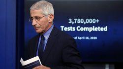 Σε καραντίνα ο Φάουτσι και οι επικεφαλής του CDC και του FDA στις