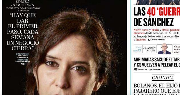 Isabel Díaz Ayuso en 'El