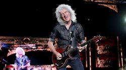 Brian May, guitarrista de 'Queen', hospitalizado tras destrozarse los glúteos haciendo