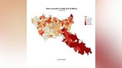 L'avanzata del Covid-19 in timelapse: la mappa mostra come si è diffuso il contagio a