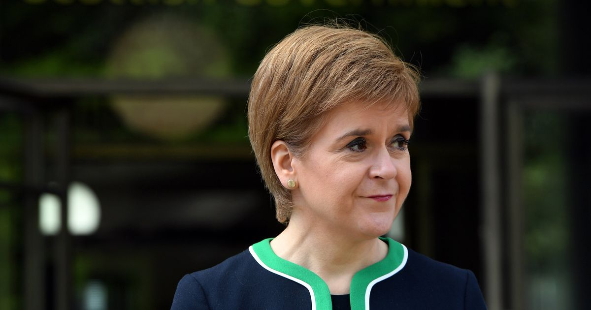 Nicola Sturgeon Asks UK Government Not To Deploy New Coronavirus Slogan In Scotland