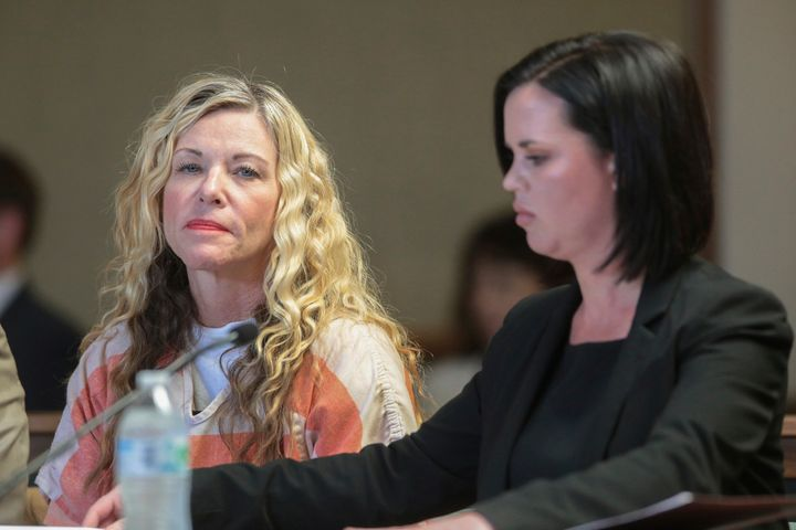 Lori Vallow Daybell during a hearing on March 6 in Rexburg, Idaho. Daybell was charged with felony child abandonment after he