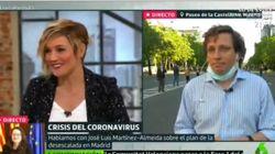 Cristina Pardo entrevista a Almeida en 'Liarla Pardo' y sucede algo inesperado: su cara lo dice