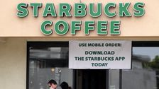 Starbucks Workers Confront The Big Question: Should I Go Back To Work In A Pandemic?