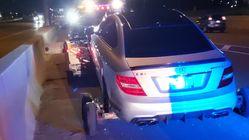 Une voiture interceptée alors qu'elle roulait à plus de 300 km/h en