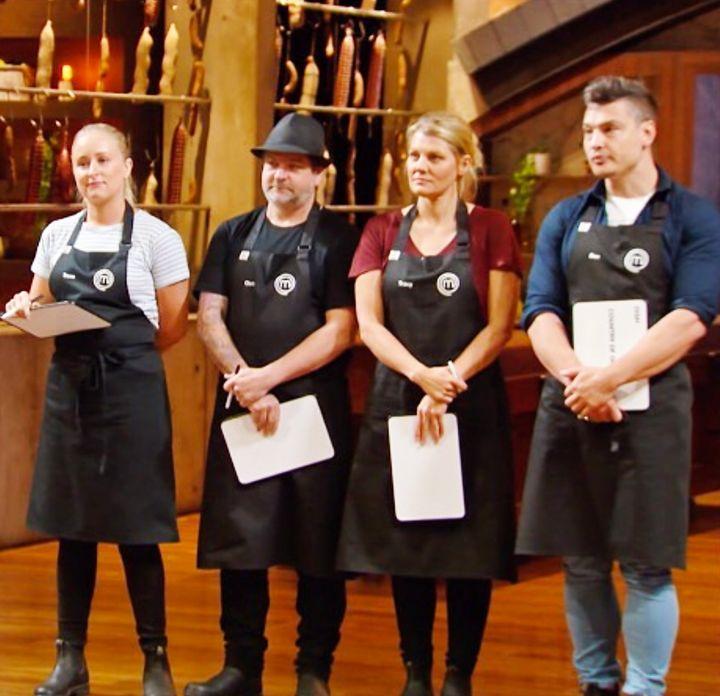 'MasterChef Australia: Back To Win' contestants Tessa Boersma, Chris Badenoch, Tracy Collins and Ben Ungermann