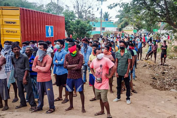 Workers stranded in Tamil Nadu