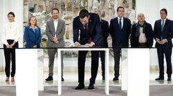 Gobierno, patronal y sindicatos firman el pacto para prorrogar los