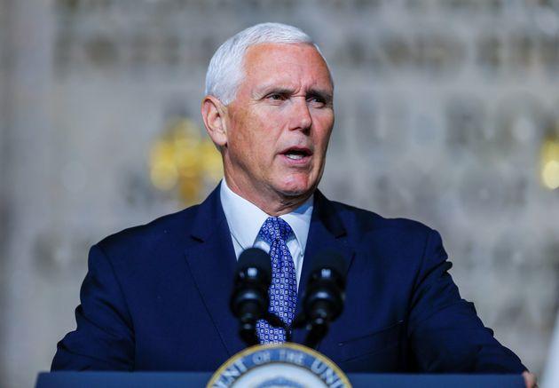 El vicepresidente estadounidense, Mike