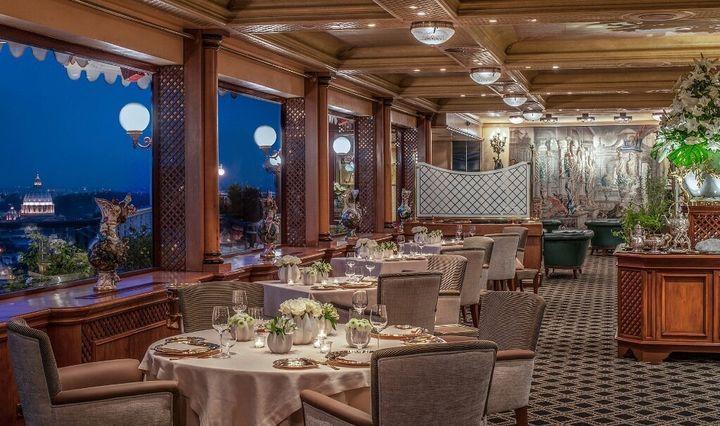Il ristorante La Pergola