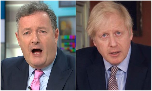 Piers Morgan and Boris
