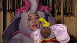 Katy Perry Dressing Up As Dumbo's Mother To Serenade Her Pet Poodle Will Leave You Oddly