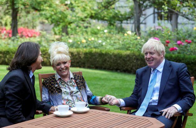 Scott Mitchell and Barbara Windsor met with Boris Johnson last