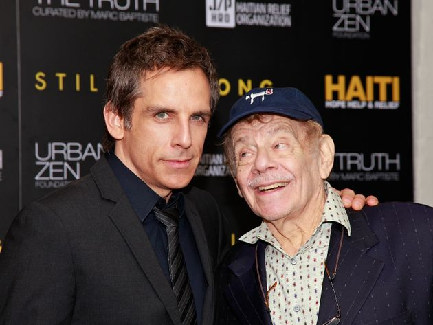 Jerry Stiller with son